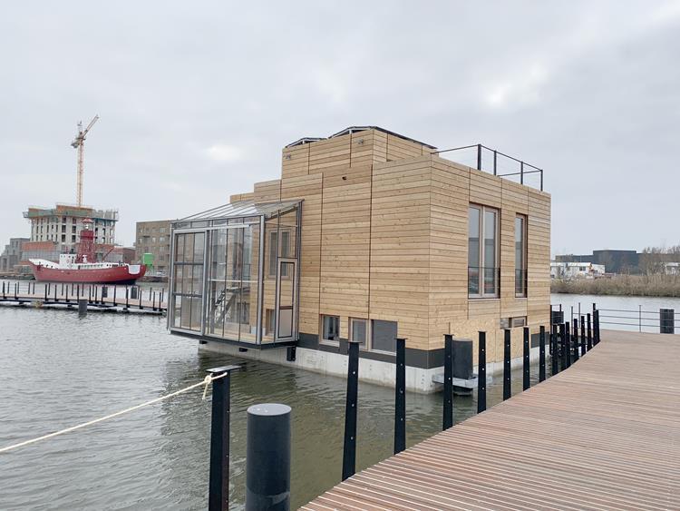 Fraunhofer an erster energieautarker Siedlung in Amsterdam beteiligt