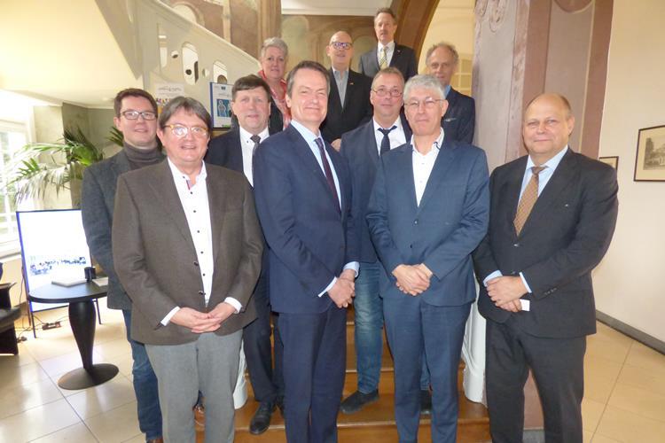 Botschafter Kingma auf Arbeitsbesuch in der Euregio Rhein-Waal