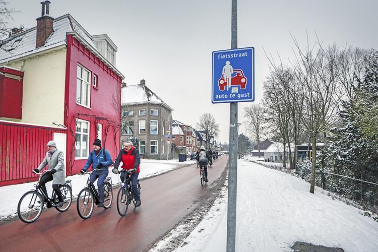 Groninger Fahrrad-Infrastruktur als Vorbild