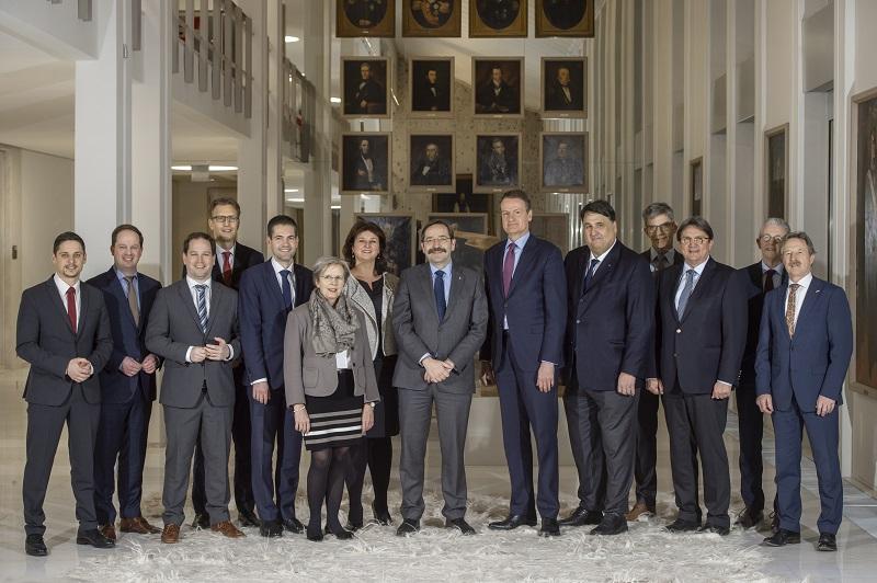 Ambassadeur Kingma op bezoek in Limburg