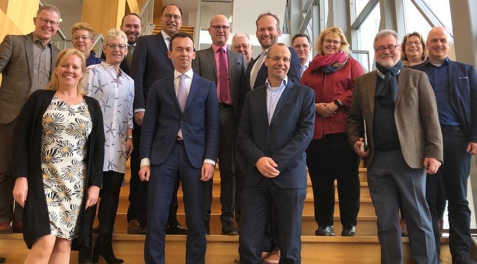 Grensoverschrijdende ontmoeting tussen burgemeesters