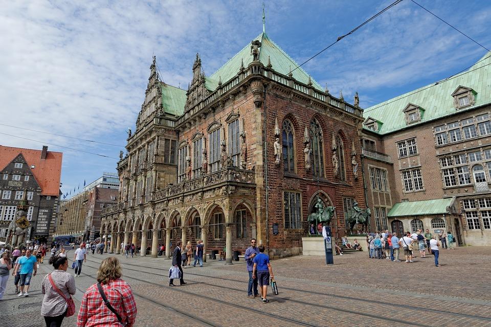 Koninklijk paar op bezoek in Bremen