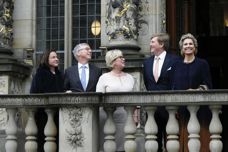 König und Königin der Niederlande zu Besuch in Bremen