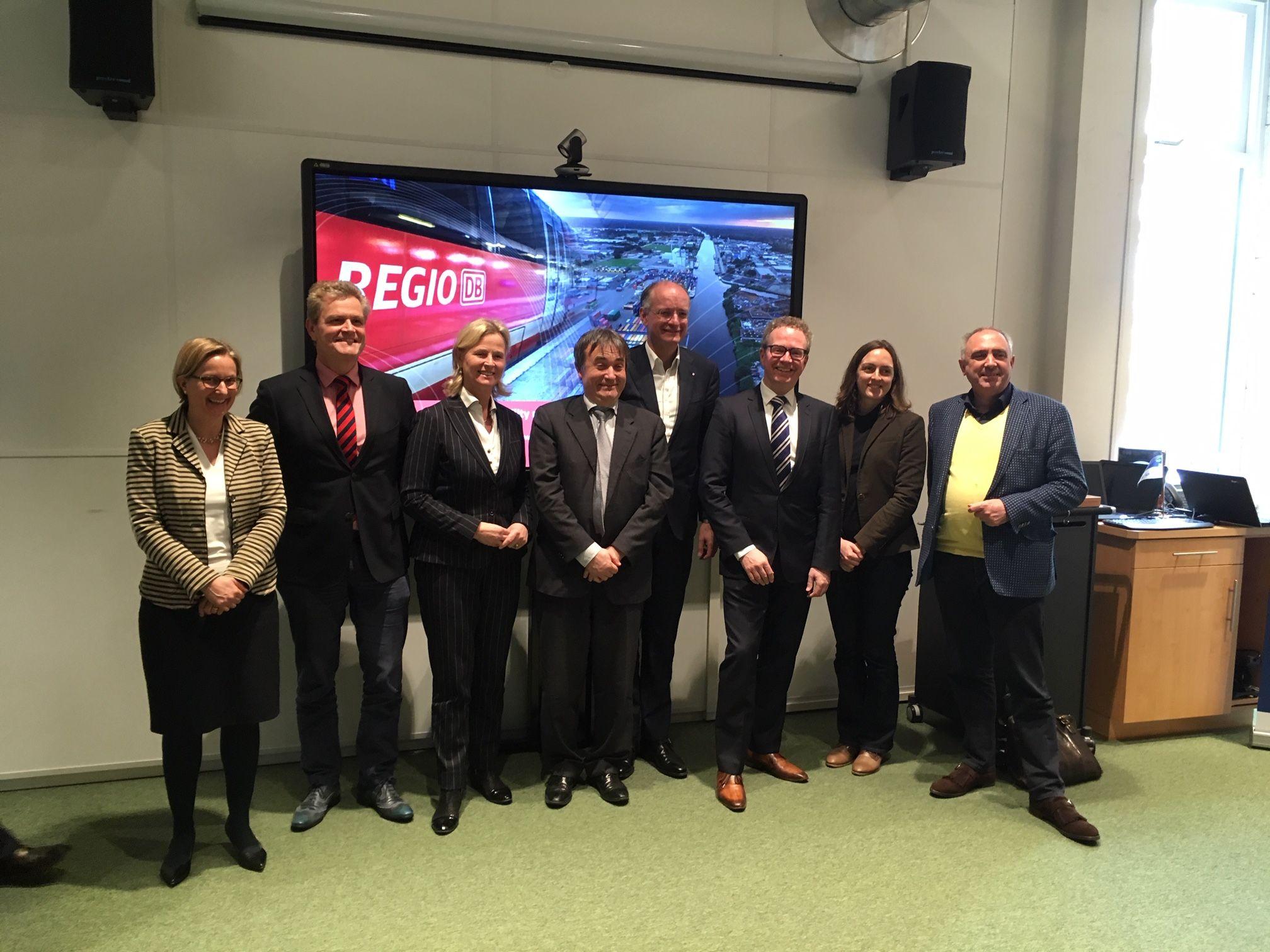 Europese delegatie op bezoek in EUREGIO