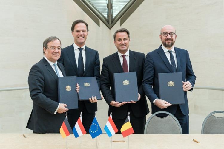 Nordrhein-Westfalen und Benelux-Länder vertiefen Partnerschaft