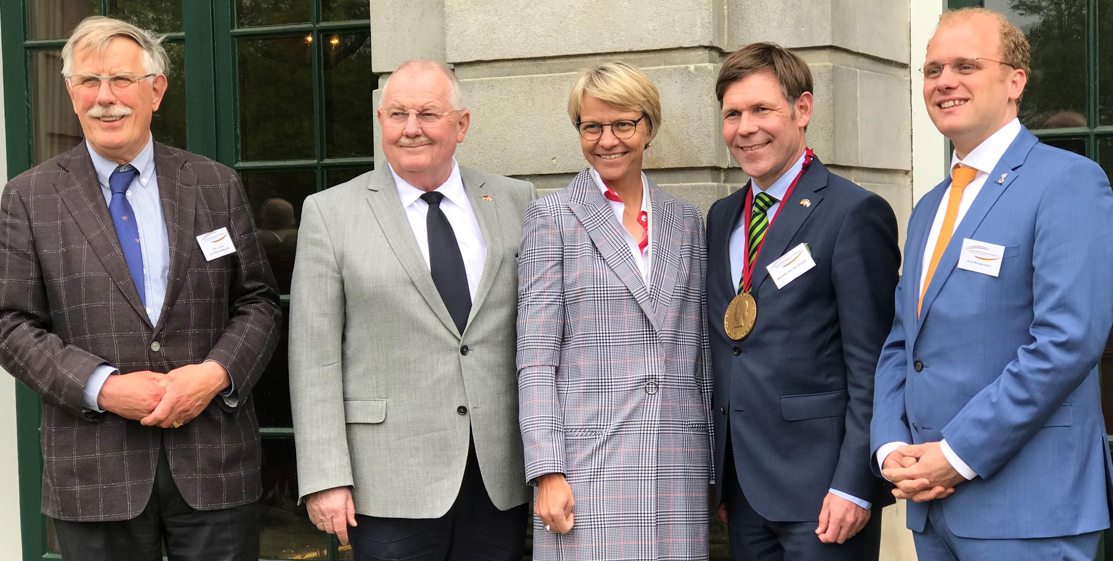 Regierungspräsidentin Dorothee Feller nieuwe voorzitter Deutsch-Niederländische Gesellschaft Münster
