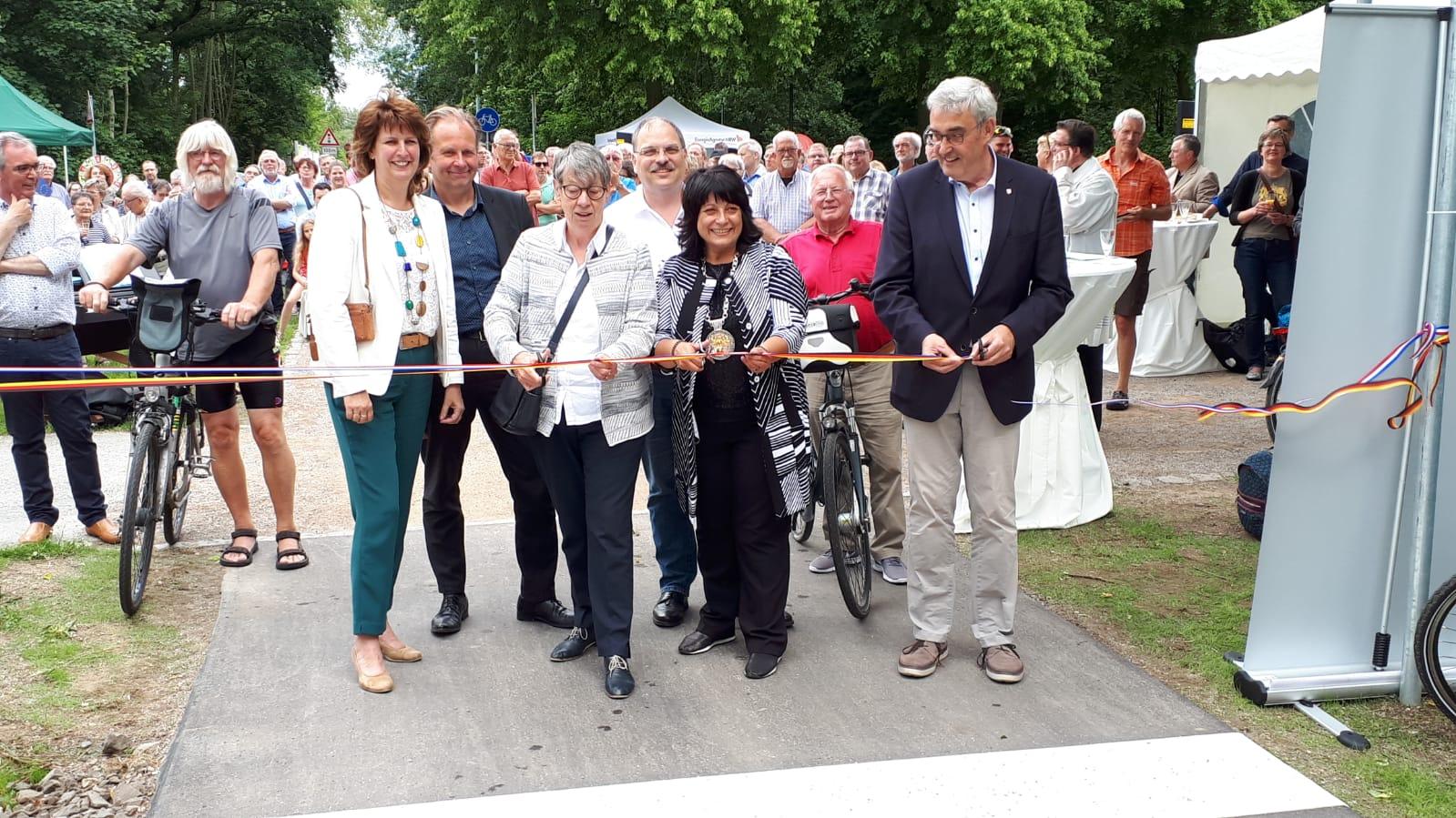 Europa-RadBahn zwischen Kleve und Nijmegen eröffnet