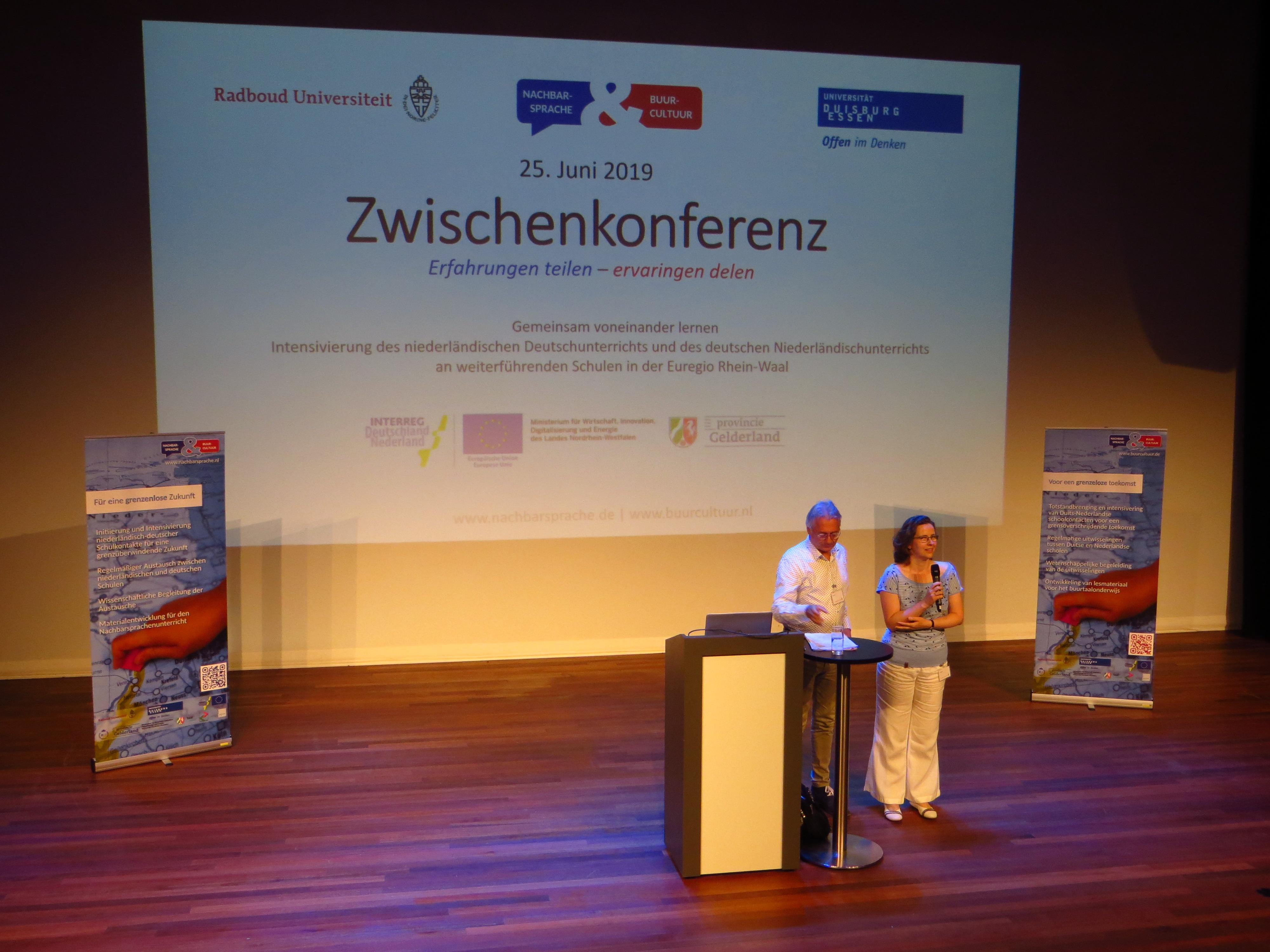 Ervaringen delen bij Tussenconferentie Nachbarsprache & Buurcultuur