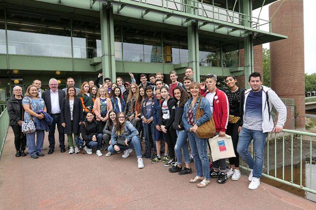 Jongeren uit heel Europa gaan op zoek naar 'Sounds of Bocholt'