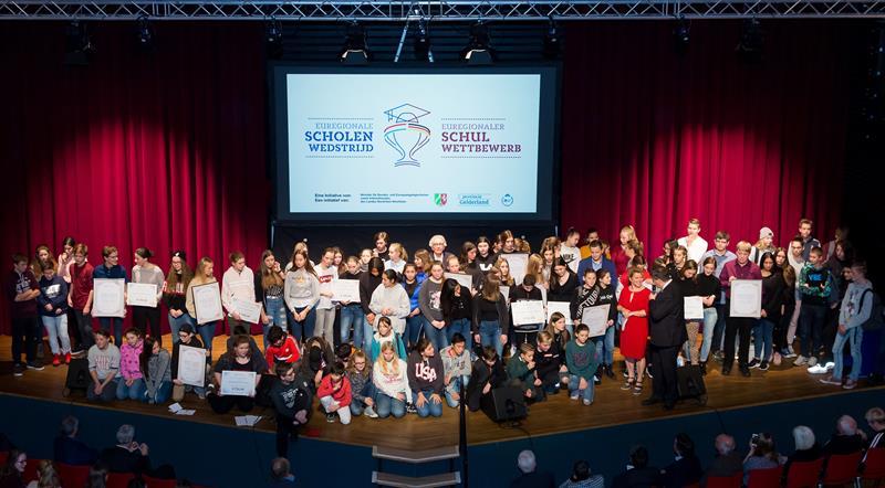 Deutsch-niederländischer Schulwettbewerb geht in die zweite Runde