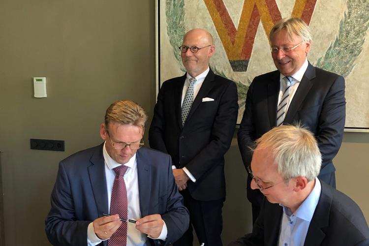 Kooperation zwischen Hamburg und Groningen