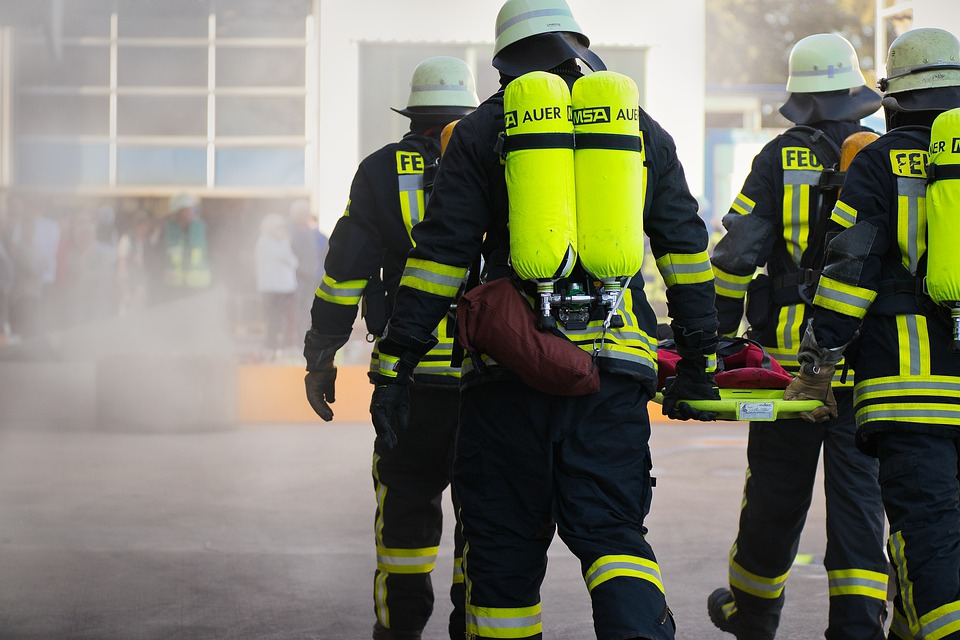 Brandweerkorpsen Berg en Dal en Kranenburg oefenen samen