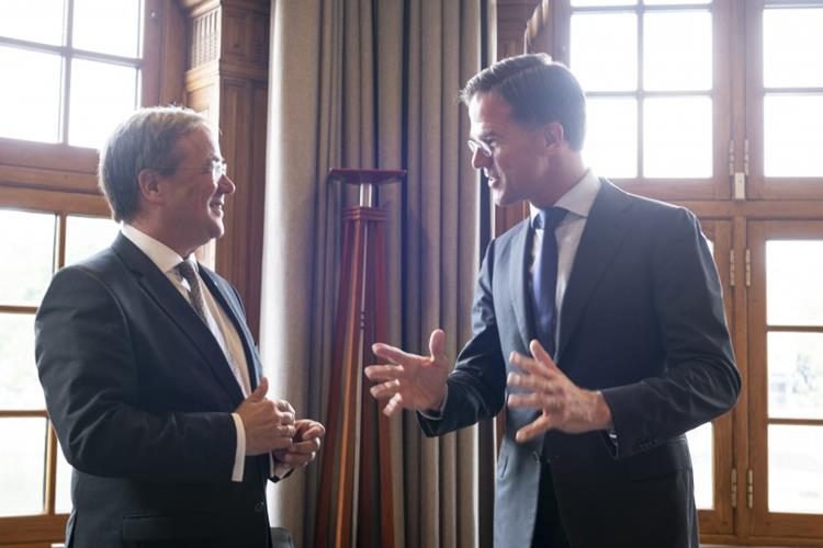 NRW-Ministerpräsident Laschet zu Besuch in Den Haag