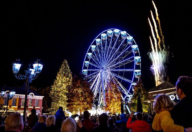 Lichterparade eröffnet Winterzeit in Roermond