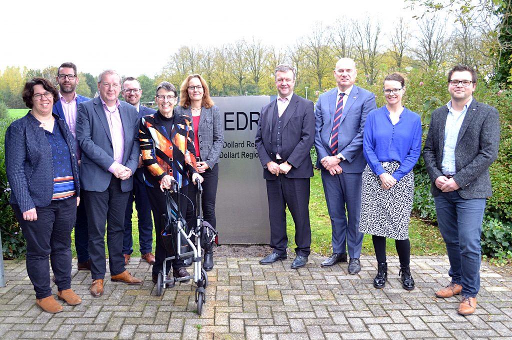 Commissaris van de Koning Jetta Klijnsma op bezoek in Eems Dollard Regio