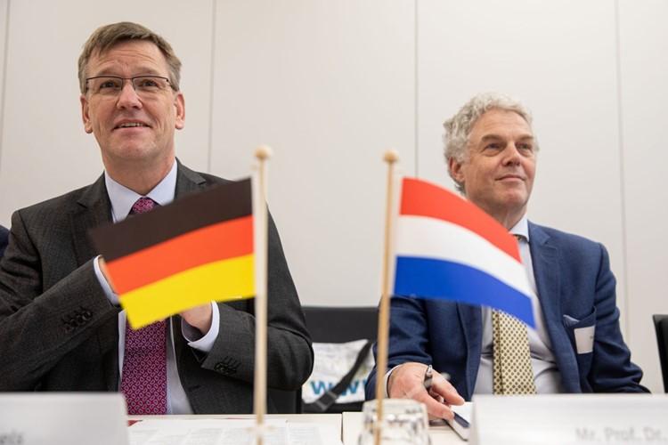 Universitäten Münster und Twente diskutieren über Kooperationen