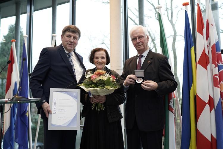 Ehrenmedaille für Jakob Voss