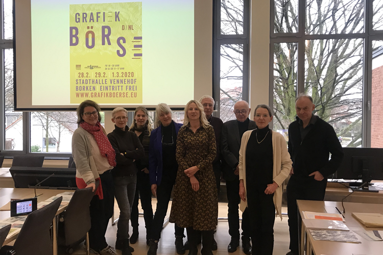 70 Aussteller bei der Deutsch-Niederländischen Grafikbörse