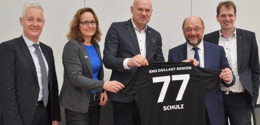 """Martin Schulz: """"De economische en culturele kracht ligt in de regio"""""""
