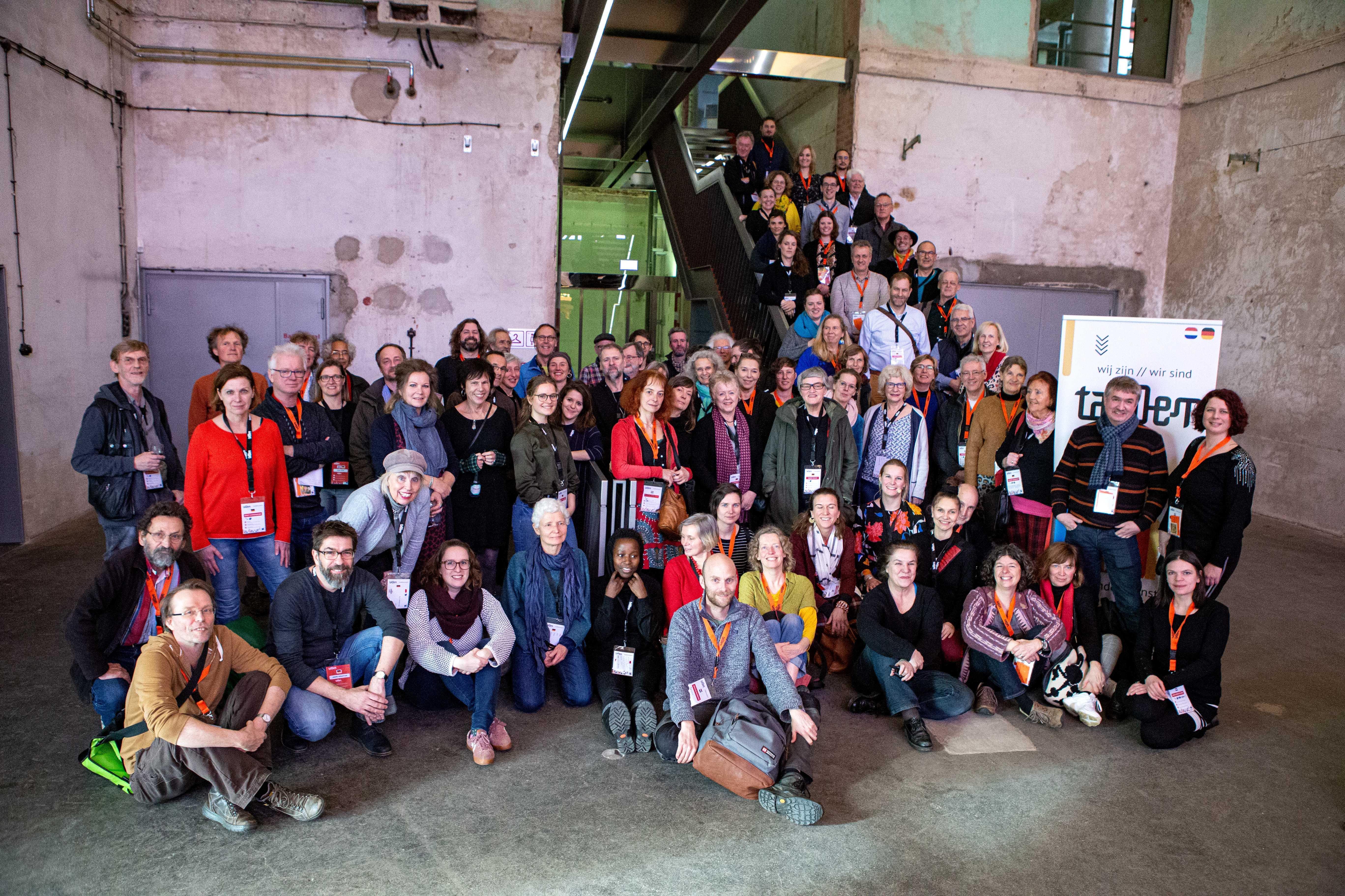Het paradijs: netwerken en inspiratie opdoen bij grensoverschrijdend kunstproject taNDem