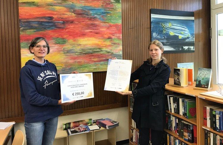 Euregionaler Schulwettbewerb: letzte Preise überreicht