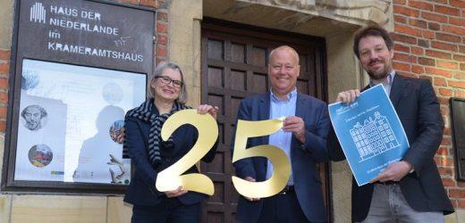 Haus der Niederlande feiert 25-jähriges Jubiläum