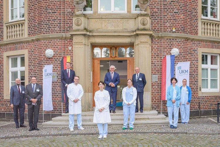 Steinmeier über deutsch-niederländische Zusammenarbeit erfreut