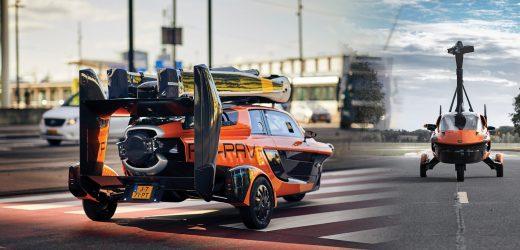 Flugauto aus den Niederlanden erhält Straßenzulassung