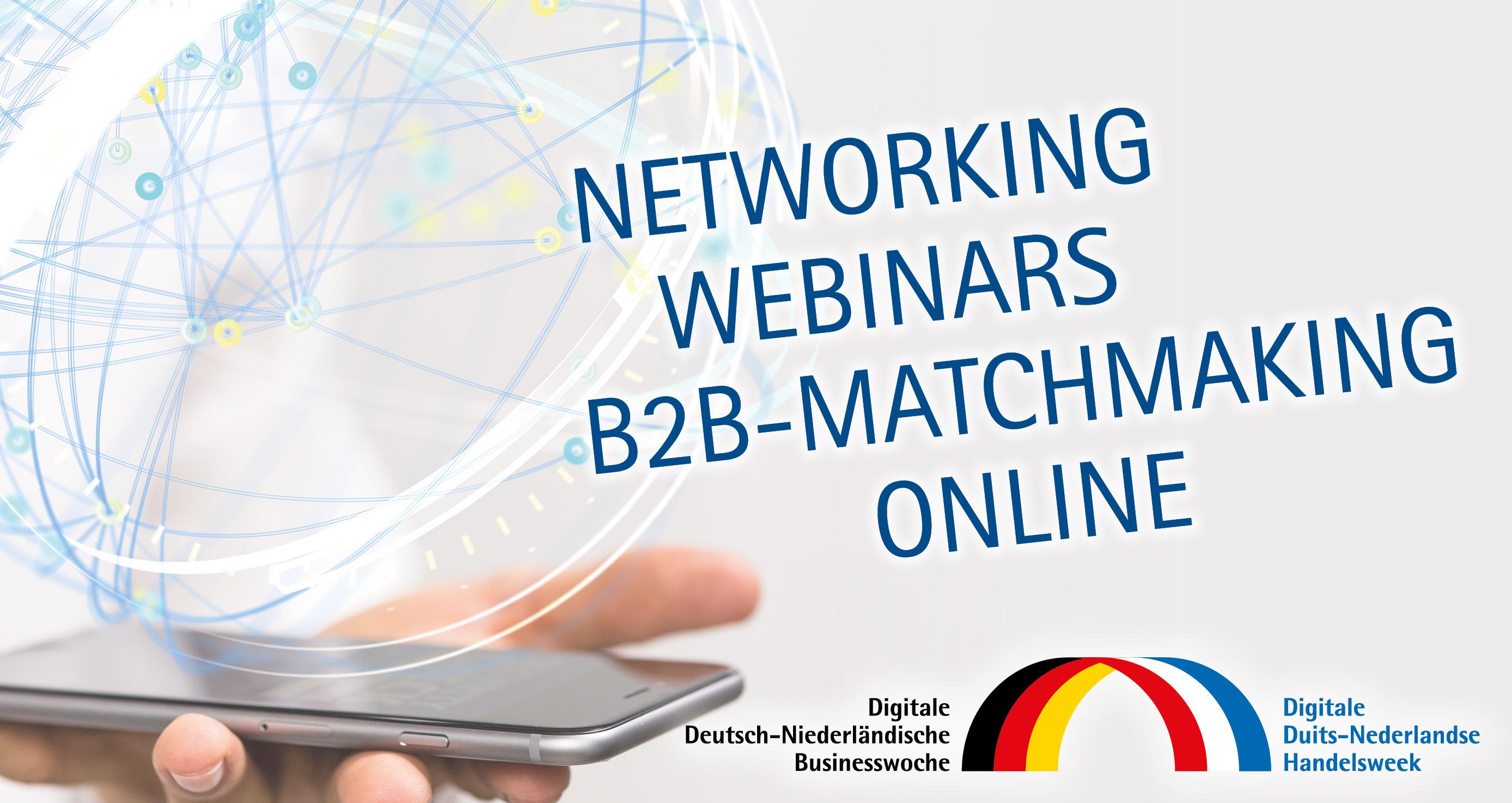 Online netwerken tijdens Digitale Duits-Nederlandse Handelsweek