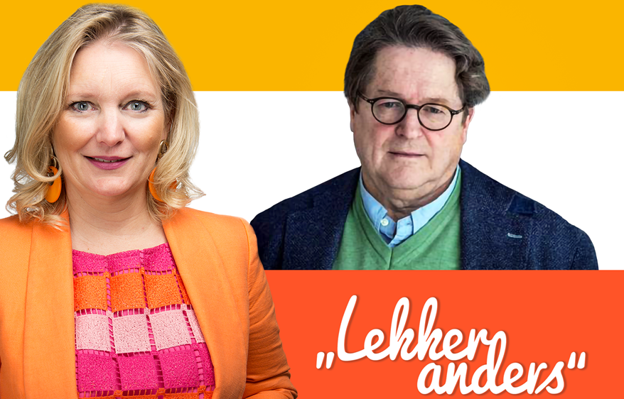 """Podcast """"LEKKER anders"""": Im Gespräch mit Andreas Voss"""