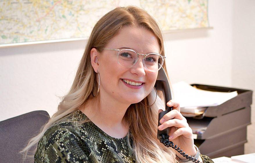 Antonia Cornelißen, Junior-Beraterin beim GrenzInfoPunkt Rhein-Waal