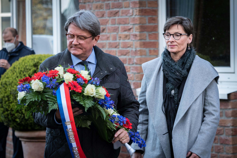 Grensoverschrijdende Dodenherdenking bij Consulaat Honorair in Kleve