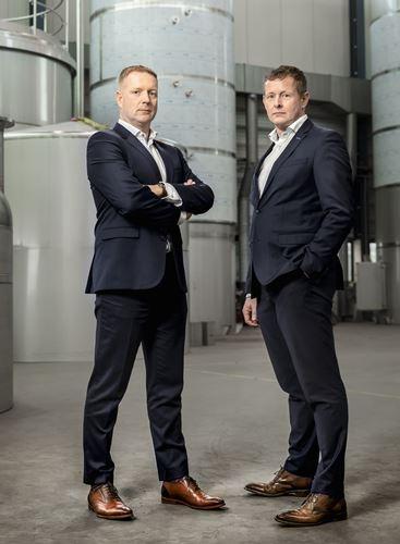 Arno Rodenburg und Fred Boere von Gpi Tanks