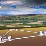(c) Artist Impression Einstein Telescope, door Marco Kraan (Nikhef)