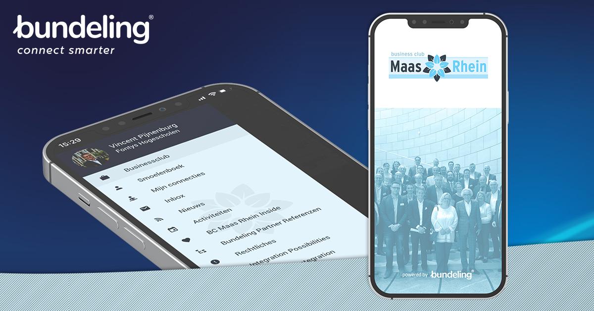 Business Club Maas Rhein lanceert eigen app
