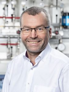 Wolfgang Wolter, Geschäftsführer von Wystrach.