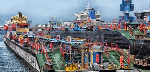 Wasserstofflieferkette von Rotterdam nach Duisburg