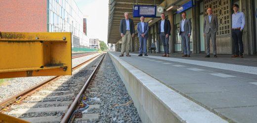 Nederlandse ambassadeur voor het Europese Jaar van het Spoor ziet kansen voor EuregioRail in Brussel