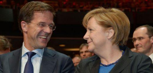 Blog: Merkel en Rutte als beste vrienden