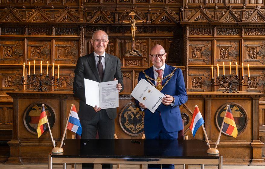 Städtepartnerschaft Münster – Enschede ist offiziell
