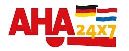 AHA24x7.com logo
