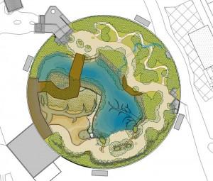 So soll der Grundriss der Mangrove aussehen. Illustration: Stef van Campen