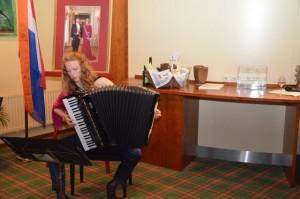 Marieke Grotenhuis, accordeon