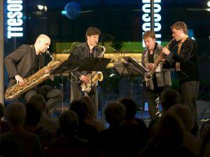 Summerwinds Münster, het Amstel Quartet. (c) GWK-summerwinds