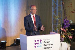 Der niederländische Wirtschaftsminister Henk Kamp. Foto: Marcel van Hoorn.