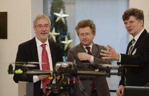 Dr.Günther Horzetzky (r.) und Dr. Michael Scheffer (l.). Foto: MWEIMH NRW / R. Pfeil