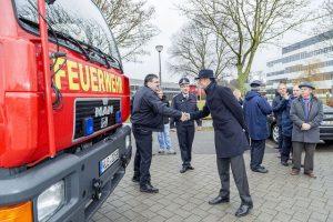 Ton Lansink bij brandweer Millingen aan de Rijn