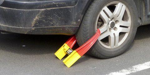 Fout parkeren. Een van de redenen voor een boete